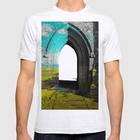 Portal Mens Fitted Tee Ash Grey SMALL