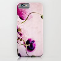 iPhone & iPod Case featuring I love pink poppies by Hello Twiggs