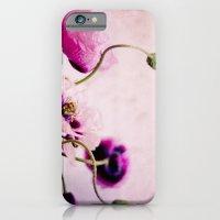 I Love Pink Poppies iPhone 6 Slim Case
