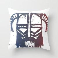 Brutal Viking 2 Throw Pillow