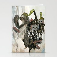 The Sloth Stationery Cards