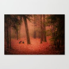 A Childhood Memory Canvas Print