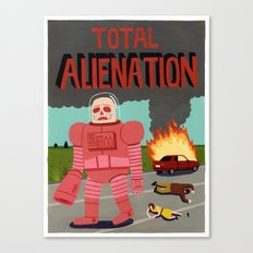 Total Alienation Canvas Print