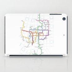 Minneapolis Skyway Map iPad Case