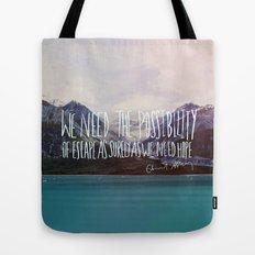 Escape x Alaska Tote Bag