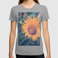 Oh Happy Day Womens Fitted Tee Tri-Grey SMALL