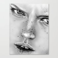 + NO LOVE ALLOWED + Canvas Print