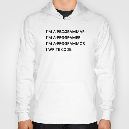 I write code Hoody