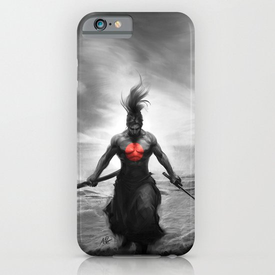 Courage of Samurai iPhone & iPod Case
