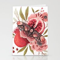 Moth Wings II Stationery Cards