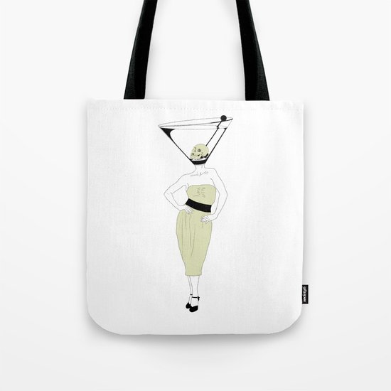 LIQUID DINNER PARTY DARLING, ANOTHER MARTINI? Tote Bag