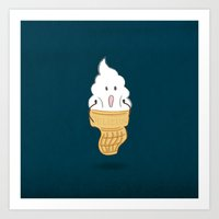 I Scream Art Print
