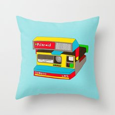 Captures Great Moments (color toy) Throw Pillow