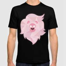 Lion - Steven Universe Mens Fitted Tee Black SMALL