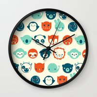 Menagerie Wall Clock