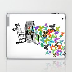 Urban Butterflies Laptop & iPad Skin