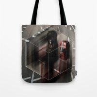 Stay on the Line Tote Bag