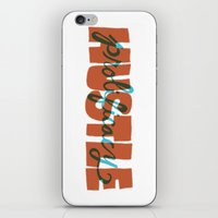 Hustle & Prolificacy iPhone & iPod Skin