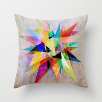 Colorful 2 Throw Pillow
