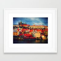 Framed Art Print featuring The Charles by Brianna Clare