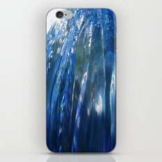 Message from the sea 21 / Wall of an approaching wave iPhone & iPod Skin