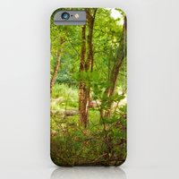 iPhone & iPod Case featuring Surreal woodland by Erin Mason