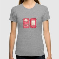 Don't Leave Home Without… Womens Fitted Tee Tri-Grey SMALL