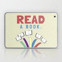 Read a book. Laptop & iPad Skin