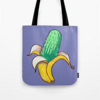 Banana Pickle Tote Bag