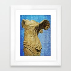 angel wings Framed Art Print
