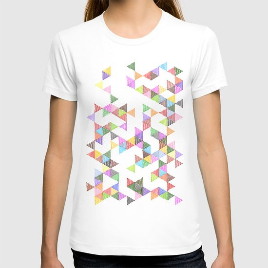 Technicolour Raindrops T-shirt