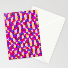Myth Syzer - Neon (Pattern #12) Stationery Cards