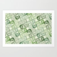 Lucky Potato Print Art Print
