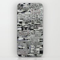 Highly Resolved Ghost (P/D3 Glitch Collage Studies) iPhone & iPod Skin