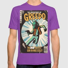 Greedo Vintage Comic Cov… Mens Fitted Tee Ultraviolet SMALL