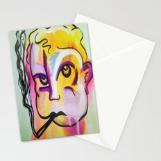 Never trust a smoking baby Stationery Cards