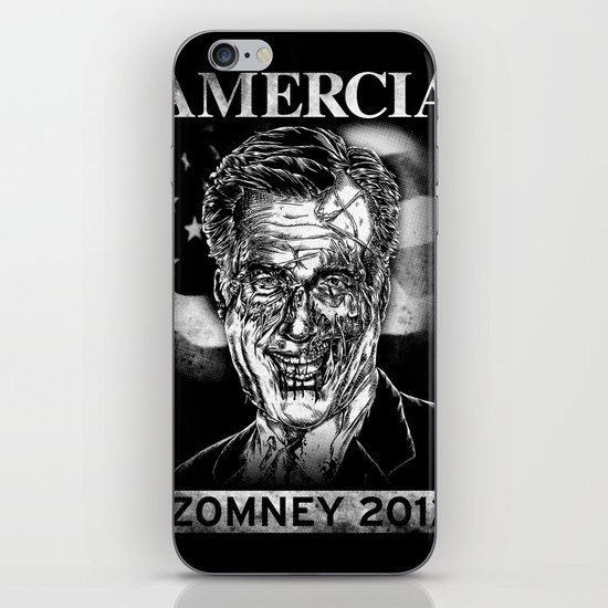 Zomney for Amercia iPhone & iPod Skin