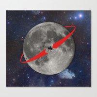 Lunar Lander Canvas Print