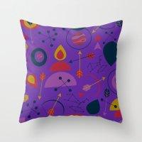 Sagittarius the Archer Throw Pillow