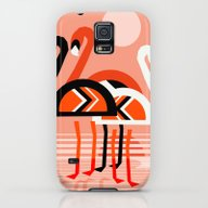 Posse - Flamingo Throwba… Galaxy S5 Slim Case
