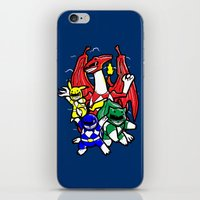 Might Morphing Poke'Rang… iPhone & iPod Skin