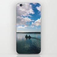 Boating Date iPhone & iPod Skin