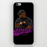 Chad 'Pimp C' Butler iPhone & iPod Skin