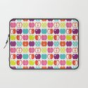 Textured Apples Laptop Sleeve