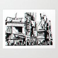 City That Inspires Art Print