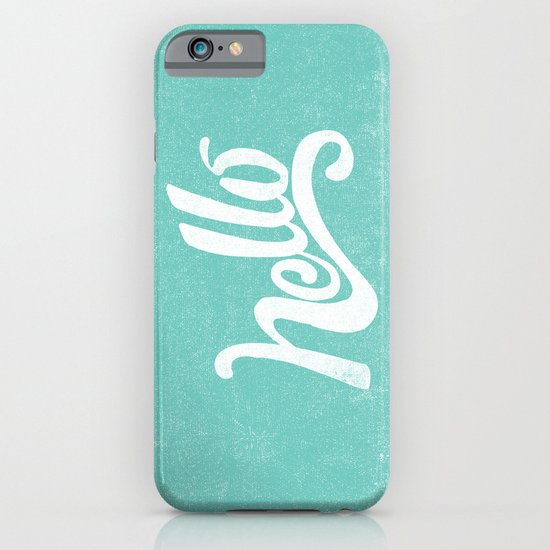 HELLO iPhone & iPod Case