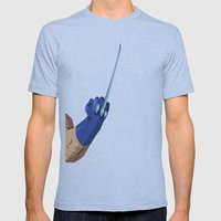 Wlvy Fk! Mens Fitted Tee Athletic Blue SMALL