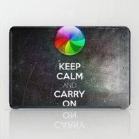 Spinning Wheel Of Death iPad Case