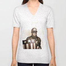 Captain America Unisex V-Neck