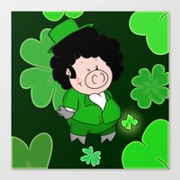 Luck Of The Irish Canvas Print
